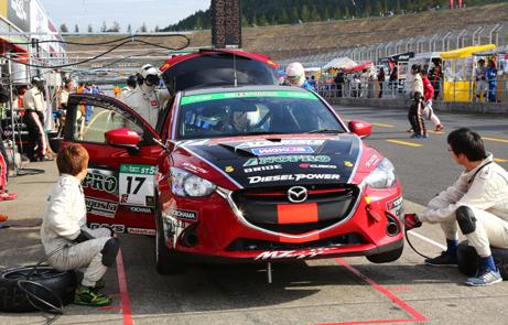 スーパー耐久レース参戦マシン