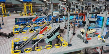 工場模型展示