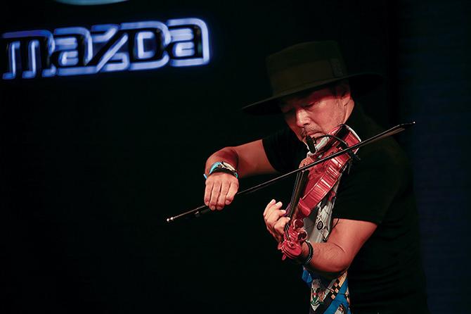 古澤 巌 氏ヴァイオリンライブ