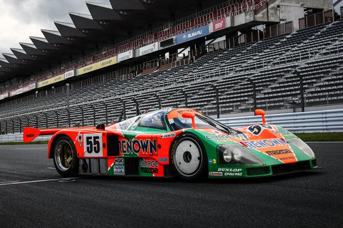 マツダ 787B 55号車 1991年 ル・マン24時間レース優勝⾞