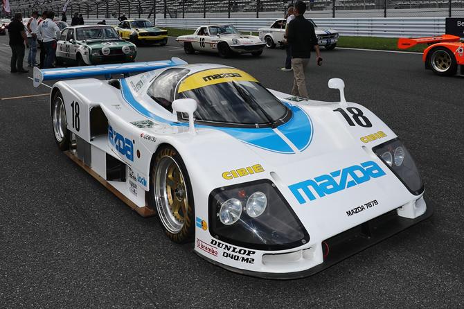 マツダ 787B 18号車 1991年 ル・マン24時間レース総合6位⼊賞車 (オーナー:Collections K)